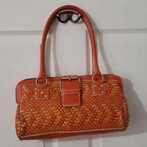 Cynthia Rowley wicker purse